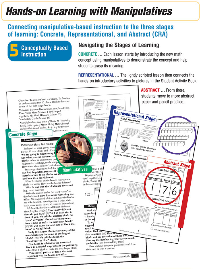 Learning System Step 5 Conceptually Based Differentiated